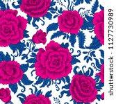 seamless pattern from... | Shutterstock .eps vector #1127730989