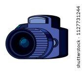 photographic camera icon   Shutterstock .eps vector #1127731244