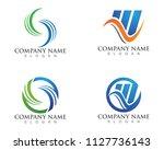 business finance professional... | Shutterstock .eps vector #1127736143