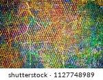 multicolored grunge texture.... | Shutterstock . vector #1127748989