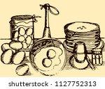 abstract vintage vector...   Shutterstock .eps vector #1127752313