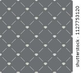 seamless diamond pattern on a... | Shutterstock .eps vector #1127753120