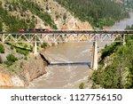 lillooet  british columbia ... | Shutterstock . vector #1127756150