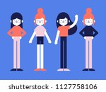 flat style vector illustration  ... | Shutterstock .eps vector #1127758106