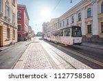 helsinki  finland   25 6 2018 ... | Shutterstock . vector #1127758580