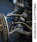 vehicle suspension system and... | Shutterstock . vector #1127775860
