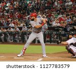 matt carpenter 3rd basemen for...   Shutterstock . vector #1127783579