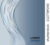 long woman hair hand drawn... | Shutterstock .eps vector #1127789240