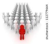 leader. concept. 3d...   Shutterstock . vector #112779664