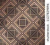 art deco pattern. seamless... | Shutterstock .eps vector #1127829896