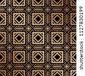 art deco pattern. seamless... | Shutterstock .eps vector #1127830199