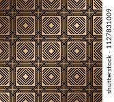 art deco pattern. seamless... | Shutterstock .eps vector #1127831009