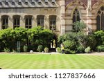 oxford  uk   july 02 2018 ... | Shutterstock . vector #1127837666