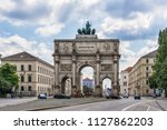 munich  germany   june 09  2018 ... | Shutterstock . vector #1127862203