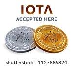 iota. accepted sign emblem....   Shutterstock .eps vector #1127886824