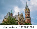 jefferson market library  in... | Shutterstock . vector #1127891609