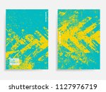 abstract concrete textured ... | Shutterstock .eps vector #1127976719