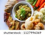 thai food in thailand which... | Shutterstock . vector #1127996369