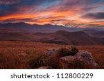 Sunset Over Drakensberg...