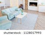 fashionable spacious apartment...   Shutterstock . vector #1128017993