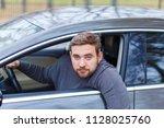 Small photo of A drunken man drives a car