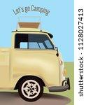 let's go camping | Shutterstock .eps vector #1128027413