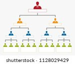 corporate organization... | Shutterstock .eps vector #1128029429