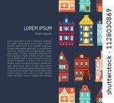 vector illustration with... | Shutterstock .eps vector #1128030869