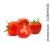 fresh  nutritious  tasty red... | Shutterstock .eps vector #1128045656