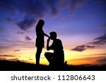 Happiness And Romantic Scene Of ...