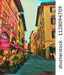 Vintage Italian Small Street I...