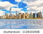 view from the water  from... | Shutterstock . vector #1128102008