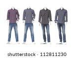 Cotton Plaid Shirt On Four...