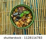 iromba   manipur cuisine  dish... | Shutterstock . vector #1128116783