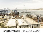 valparaiso  chile  january 2 ... | Shutterstock . vector #1128117620
