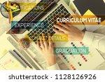 curriculum vitae concept | Shutterstock . vector #1128126926