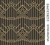 vector modern geometric tiles... | Shutterstock .eps vector #1128131993