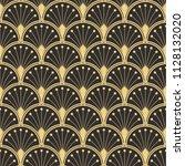 vector modern geometric tiles... | Shutterstock .eps vector #1128132020