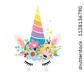 vector illustration of a... | Shutterstock .eps vector #1128136790