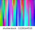 abstract texture   multicolored ... | Shutterstock . vector #1128164510