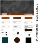dark brown vector material...