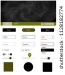 dark green vector material...