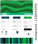 light blue  green vector style...