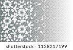 arabic tile vector seamless... | Shutterstock .eps vector #1128217199