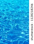 Blue Swimming Pool Water...