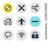 vector illustration of 9 user...   Shutterstock .eps vector #1128223058