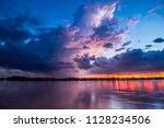 long exposure to motion blur... | Shutterstock . vector #1128234506
