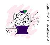 hand drawn illustration of... | Shutterstock .eps vector #1128237854