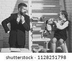 it's time for school. family... | Shutterstock . vector #1128251798