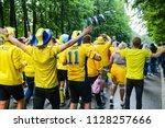 st. petersburg  russia   july 3 ... | Shutterstock . vector #1128257666